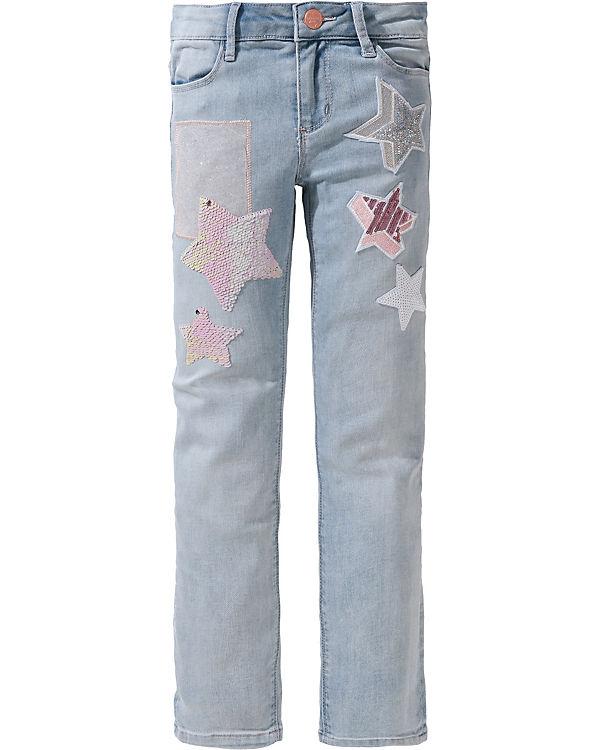 d695edf1a31bcf Jeans mit Pailletten für Mädchen
