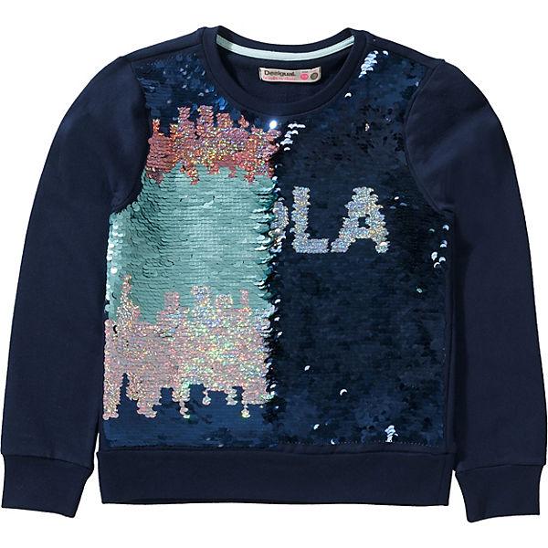 best website detailed look arriving Sweatshirt mit Wendepailltten für Mädchen, Desigual | myToys