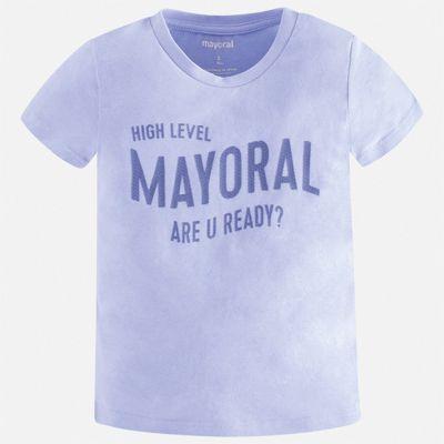 Футболка Mayoral для мальчика - голубой
