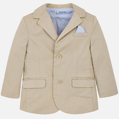 Пиджак Mayoral для мальчика - коричневый