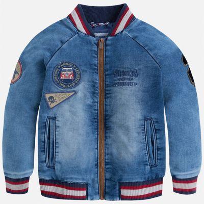 Куртка Mayoral для мальчика - голубой