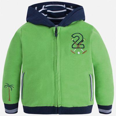 Толстовка Mayoral для мальчика - зеленый