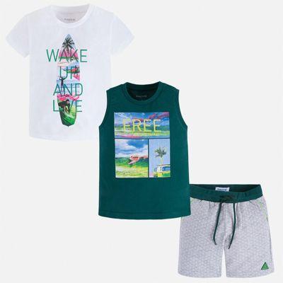 Комплект Mayoral для мальчика - зеленый