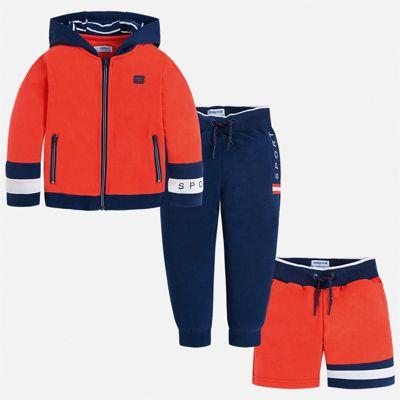 Спортивный костюм Mayoral для мальчика - бежевый