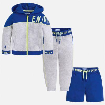 Спортивный костюм Mayoral для мальчика - синий
