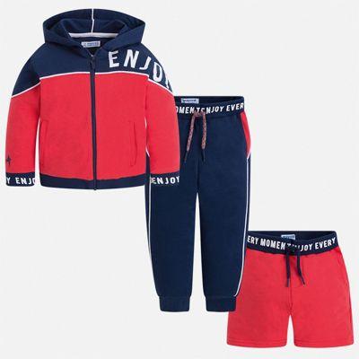 Спортивный костюм Mayoral для мальчика - бордовый