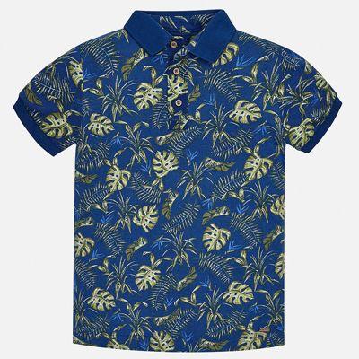 Рубашка-поло Mayoral для мальчика - зеленый