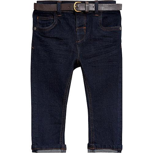 Next Stretch-Jeans mit Gürtel Gr. 98/104 Jungen Kleinkinder | 05057639403219