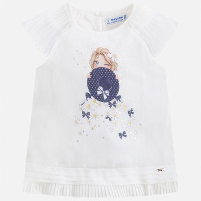 Блуза Mayoral для девочки - синий