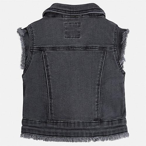Джинсовый жилет Mayoral - черный от Mayoral