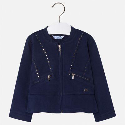 Пиджак Mayoral для девочки - синий