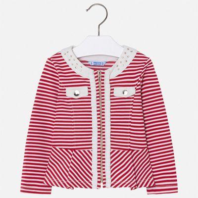Пиджак Mayoral для девочки - красный