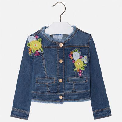 Куртка Mayoral для девочки - синий
