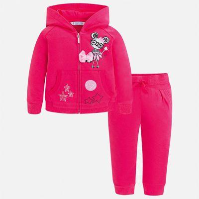 Спортивный костюм Mayoral для девочки - розовый