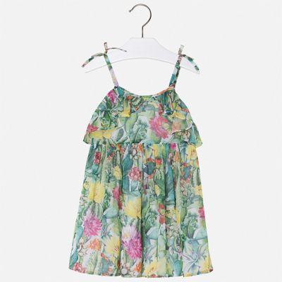 Платье Mayoral для девочки - зеленый