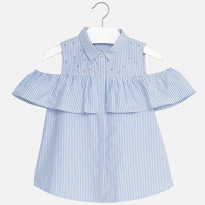 Блуза Mayoral для девочки - бежевый