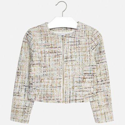 Пиджак Mayoral для девочки - голубой