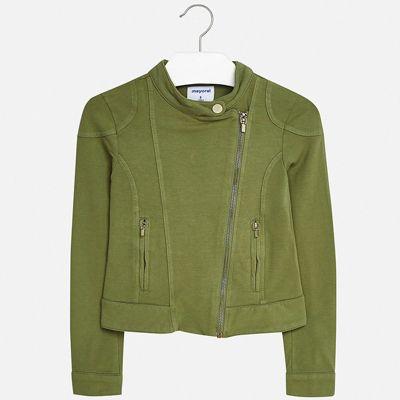 Пиджак Mayoral для девочки - хаки