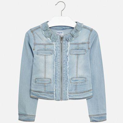 Куртка Mayoral для девочки - белый