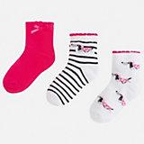 Комплект:3 пары носок Mayoral для девочки