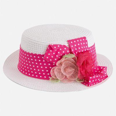 Шляпа Mayoral для девочки - розовый