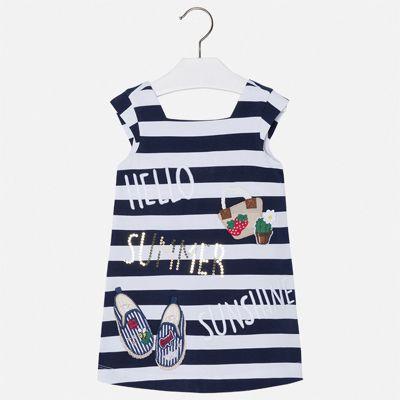 Платье Mayoral для девочки - синий