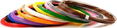 """Набор пластика для 3D ручек Unid """"ABS-12"""" 12 цветов, 10 м каждый"""