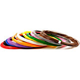 Набор пластика для 3D ручек Unid ABS-12 10 цветов, 10 м каждый