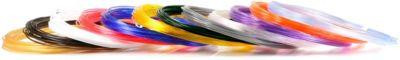 """Набор пластика для 3D ручек Unid """"PRO-12"""" 12 цветов, 10 м каждый"""
