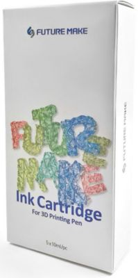 "Набор картриджей для 3D ручки Future Make ""Polyes PS"" Микс А, 5шт"