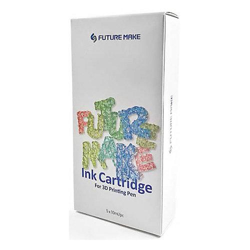 """Набор картриджей для 3D ручки Future Make """"Polyes PS"""" Микс C, 5шт от Future Make"""