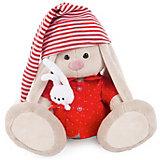Мягкая игрушка Budi Basa Зайка Ми в красной пижаме, 18 см