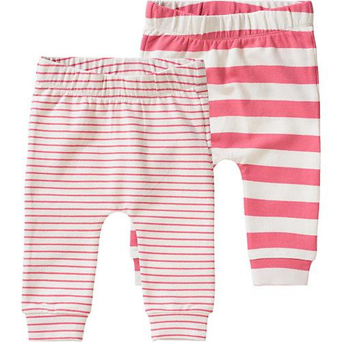 NAME IT Sweathose NBFDANGO im Doppelpack Mädchen, Organic Cotton Gr. 74 Baby | 05713722559743
