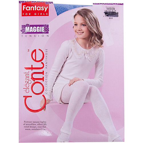 Колготки MAGGIE Conte-kids - голубой от Conte-kids