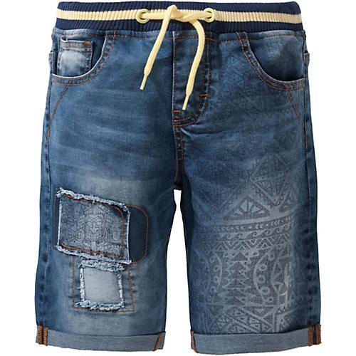 Desigual Jeansshorts mit Bündchen Gr. 122/128 Jungen Kinder | 08434486416925