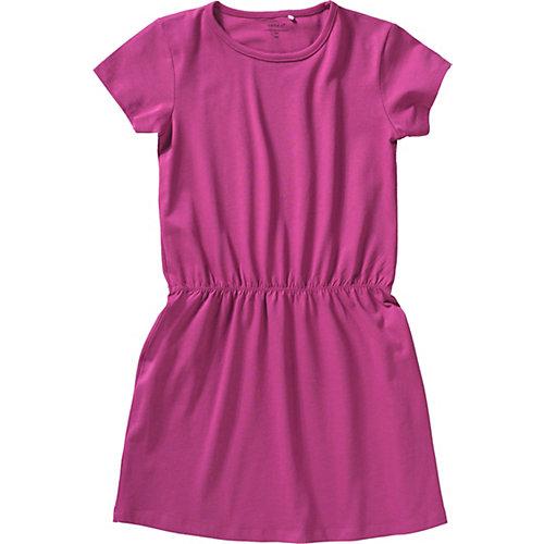 NAME IT Kinder Jerseykleid NKFVELVET Gr. 140 Mädchen Kinder | 05713725450542
