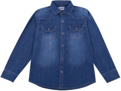 Рубашка iDO для мальчика - синий