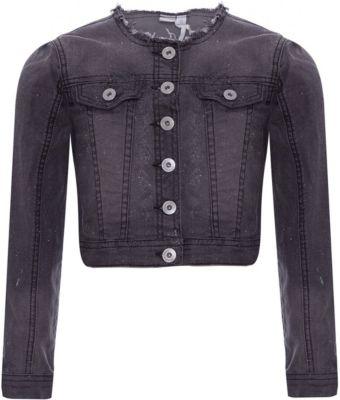 Куртка джинсовая iDO для девочки - черный