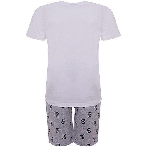 Комплект iDO: футболка, шорты - белый от iDO