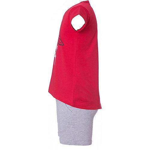 Комплект iDO: футболка, шорты - красный от iDO
