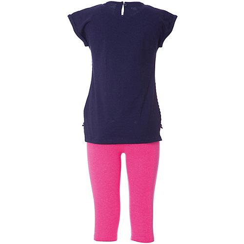 Комплект iDO: футболка, леггинсы - голубой от iDO