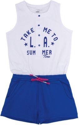 Комбинезон iDO для девочки - голубой