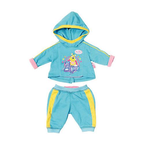 """Одежда для куклы Zapf Creation """"Baby Born"""" Спортивный костюм, голубой от Zapf Creation"""