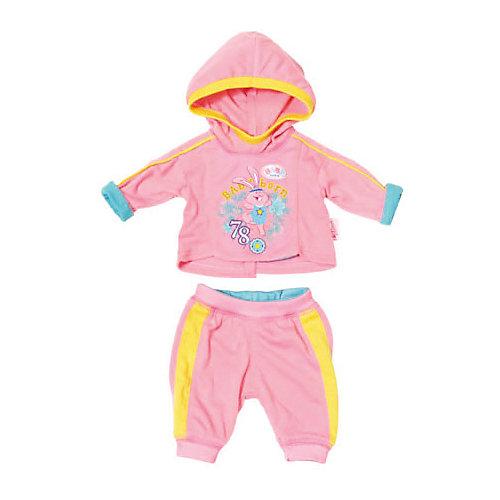 """Одежда для куклы Zapf Creation """"Baby Born"""" Спортивный костюм, розовый от Zapf Creation"""