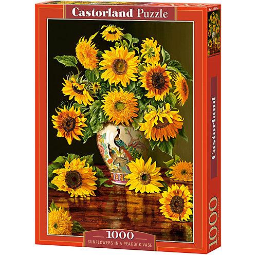 """Пазл Castorland """"Подсолнухи в вазе"""" 1000 деталей от Castorland"""