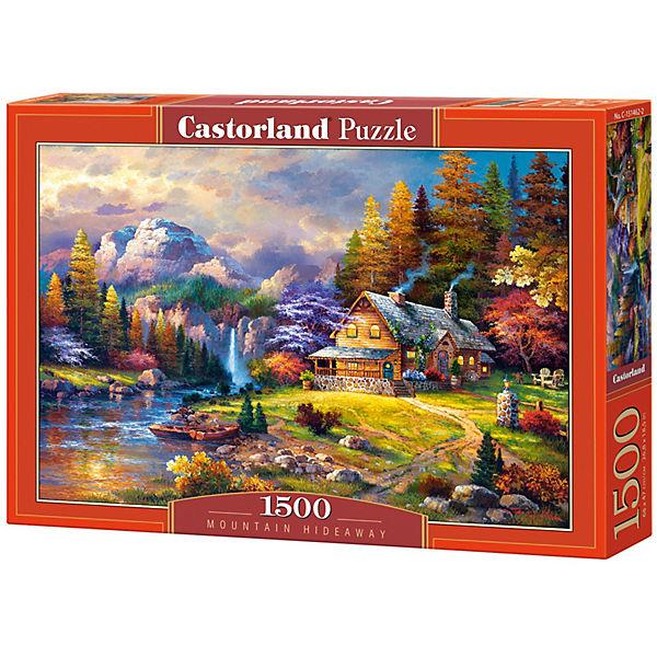"""Пазл Castorland """"Домик в горах"""" 1500 деталей"""