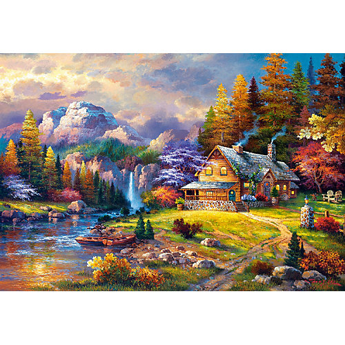 """Пазл Castorland """"Домик в горах"""" 1500 деталей от Castorland"""
