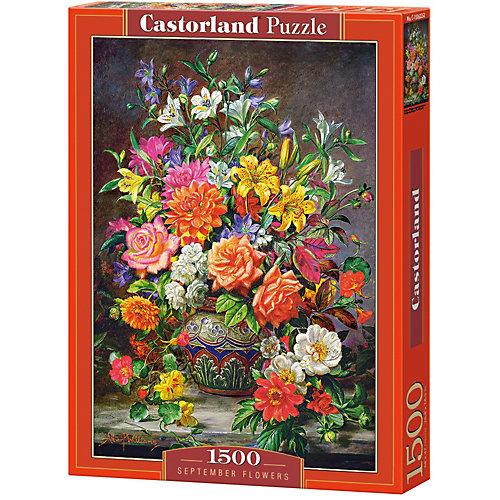 """Пазл Castorland """"Сентябрьские цветы"""" 1500 деталей от Castorland"""