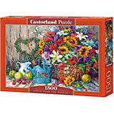"Пазл Castorland ""Садовые цветы"" 1500 деталей"