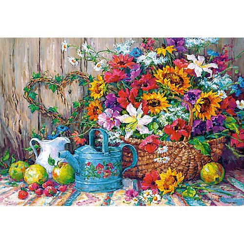 """Пазл Castorland """"Садовые цветы"""" 1500 деталей от Castorland"""